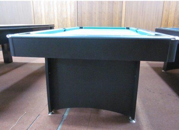 7ft Black Felt Pool Table