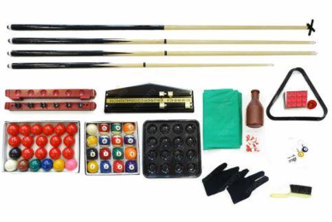 Full Billiard Pool Table Accessories Pack