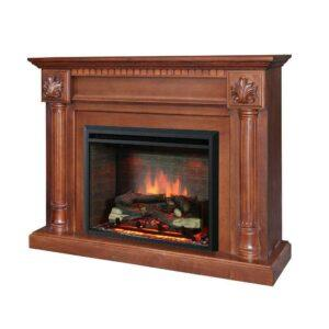 ELECTRIC FIREPLACE WOOD MANTEL SUITE