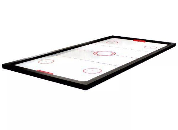 All In One! 7FT LED Pool Table, Air Hockey & Ping Pong Top! (Red Felt)