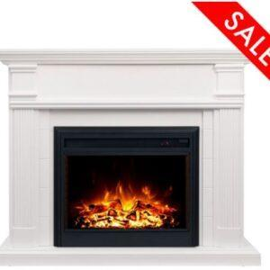 George Electric Fireplace 2