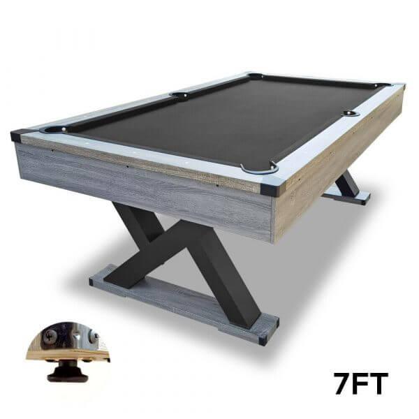 7ft Pool Table Black Felt King Kong