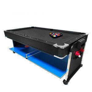 All In One Pool Table Black Felt